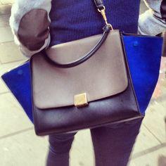 #HandbagSpy Celine Trapeze bag