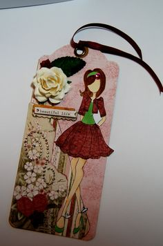 Beautiful Life Prima Doll Tag Handmade Tag for ♡ by Smiles4Paper, $6.00