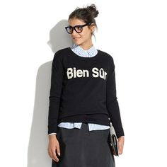 Bien Sûr Sweater by Madewell