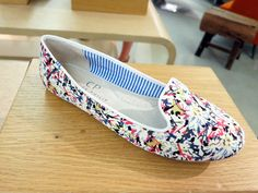 They're like walking on pillows: Charles Phillips's incredibly comfortable printed slippers.  212 872 8941 #BGSale