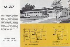 mid-century home brochures / via @Shelly Figueroa Figueroa Figueroa Figueroa Priebe & Correct.