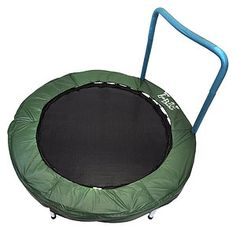Toys for Kids With Special Needs: Trampoline Bouncer With Easy Hold Handle Bar (Bazoongi) (via Parents.com)