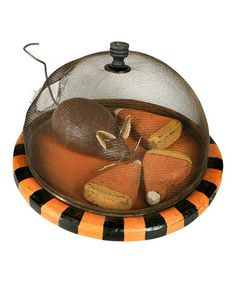 Take a look at this Decorative Mouse & Candy Corn by Primitives by Kathy on #zulily today!