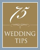 Tips for the bride.
