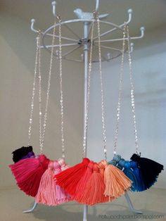 ON THE BLOG:  Tassel Necklace DIY // holtwoodhipster.blogspot.com