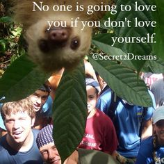 No one is going to love you if you don't love yourself. #positive #quote #love