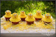 crazi chicken, bake idea, decorating ideas, cake decor, chick cupcak, chicken cupcak, baking, easter cupcakes, cameras