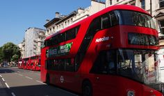 Popular images of #London. The new red buses.