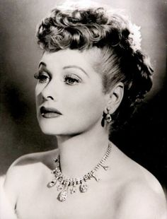 Stunning. Beautiful. Gorgeous. I just love Lucille! She was such an amazing person and actress.