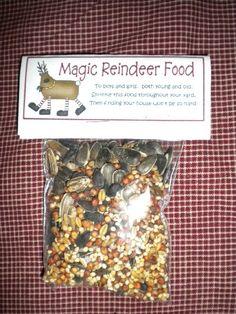 Magic Reindeer Food, handmade USA, Kathy's Holiday, Ocean City, NJ