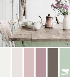 { color setting } image via: Kim Klassen | Still Life Inspo