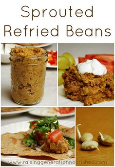 Sprouted Refried Beans - Raising Generation Nourished