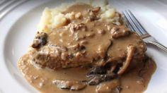 Braised Mushroom Meatloaf