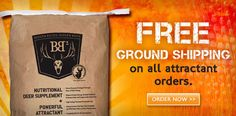 Free Shipping on Deer Attractants