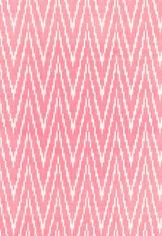 Fabric | Kasari Ikat in Berry | Schumacher $54c