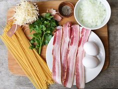 Bacon Spaghetti Carb