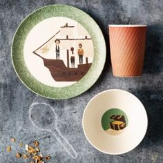 Bamboo Dinner Set - Pirate Feast
