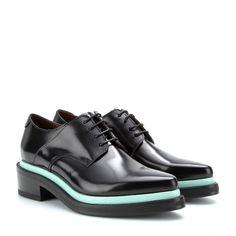 mytheresa.com - Lark leather oxfords - loafers & moccasins - Shoes - Sale - Luxury Fashion for Women / Designer clothing, shoes, bags shoe buzz, shoe 27, hunt, easi shoe