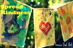 Kindness Banner from Green Owl Art
