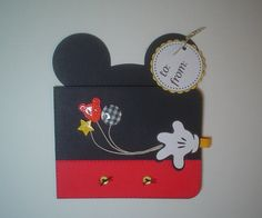 PrintINK Disney Magic Mickey Gift Card Holder by PepitosRoom, $5.50