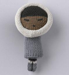 Modèle doudou poupée esquimaud - Modèles tricot accessoires - Phildar