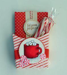 french fry box treat holder cocoa, boxes, box treat, french fries, french fry box, card, fabul fri, christma craft, fri box