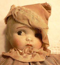 sweet vintage doll