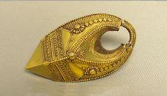 * Ear Pendant (Kathija). India (Tamil Nadu and Kerala). Medium: Gold. 19th century