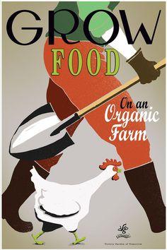 Organic Farm Poster