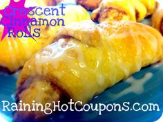 Delicious Crescent Cinnamon Rolls Recipe!