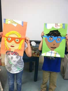 Goggles activity Good Morning Art Teacher: I am Your Groupie: Ezra Jack Keats