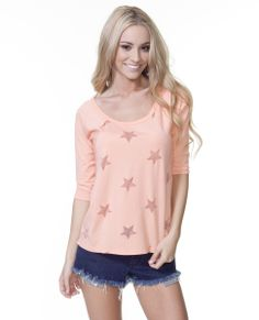 The Starry Eyed Baseball Tee and more baseball tees available at ripcurl.com.