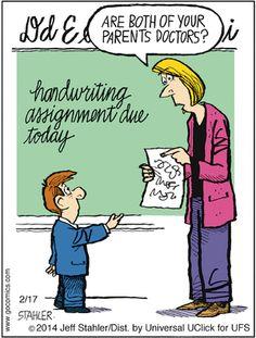 Moderately Confused Comic Strip, February 17, 2014 on GoComics.com