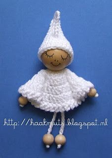 bead, red riding hood, little red, crochet dolls, crochet hats