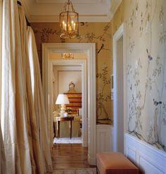 de Gournay hallway