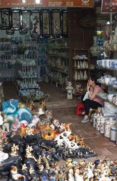 Visit the Ancient Village of Bat Trang, Vietnam, Where Everyone Makes Pottery