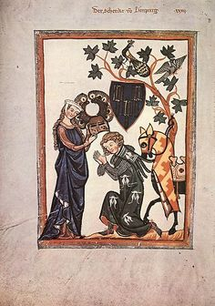 Manesse Song Collection ca. 1300 - 1320