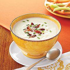 Mashed Potato Soup | MyRecipes.com