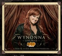 Love Heals -- Multi-platinum recording artist and five-time Grammy® Award winner Wynonna Judd and Cracker Barrel Old Country Store® supports the Wounded Warrior Project™ with Love Heals, a collection of Wynonna's top singles and three other tracks not available until now.