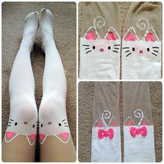 kitty stockings