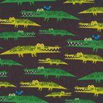 Alligators Ed Emberley Fabric by Cloud 9 Fabrics