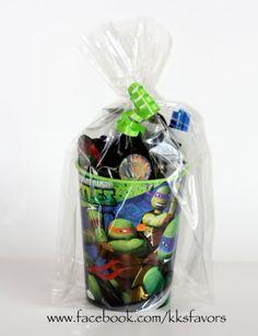Ninja Turtle Favors idea