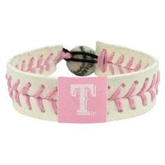 MLB Pink Baseball Bracelet - getting this