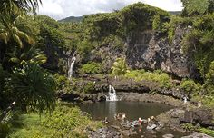 Seven Sacred Pools, Haleakala National Park; Maui, Hawaii