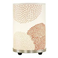 Lights Up! Red Mumm Small Meridian Accent Table Lamp | LampsPlus.com