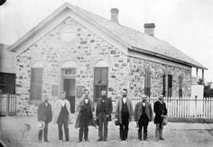 Tooele County Officers (1874) P.1 :: Utah State Historical Society - Classified Photographs