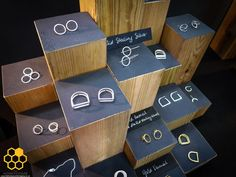 Think about how you should display your goods at fairs - Hania Craft shows how elevating products can have an amazing effect!