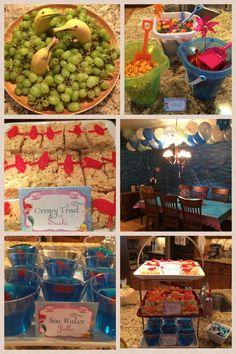 Under the sea / Little mermaid birthday party idea