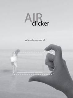 A doobrie on your finger and another on your thumb, allows you take pictures in thin air and bluetooth them to your phone.