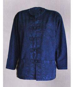 ม่อฮ่อมคอกลม กระดุมจีน แขนยาว ม่อฮ่อมแพร่.com ร้านเสื้อผ้า ขายส่งเสื้อหม้อฮ่อม ม่อฮ่อม ผ้าพื้นเมือง เสื้อผ้า จากจังหวัดแพร่ ราคาถูก  ผลิตและจำหน่าย ม่อฮ่อม หม้อห้อม หม้อฮ่อม หม้อห้อมแพร่ ม่อห้อม หม้อฮ่อม หม้อฮ่อมแพร่ หม้อห้อม รับผลิตเสื้อหม้อฮ่อมสำหรับนักเรียน ชุดสำหรับหน่วยงานต่างๆ(จำนวนมาก) ม่อฮ่อมคุณภาพ ม่อฮ่อมแพร่ กางเกงเล ผลิตจากผ้าฝ้าย ผ้าโทเร สินค้าคุณภาพดี สินค้าดีจากเมืองแพร่